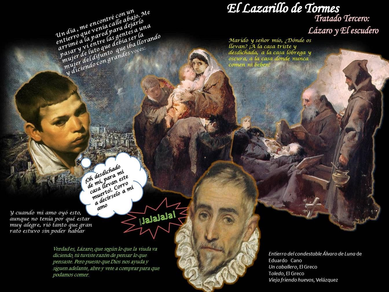 El Lazarillo de Tormes Ap spanish, Literature, Teaching