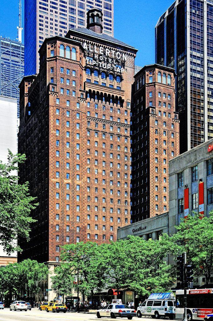 Warwick Allerton Hotel Chicago 701 N Michigan Ave Illinois U S A