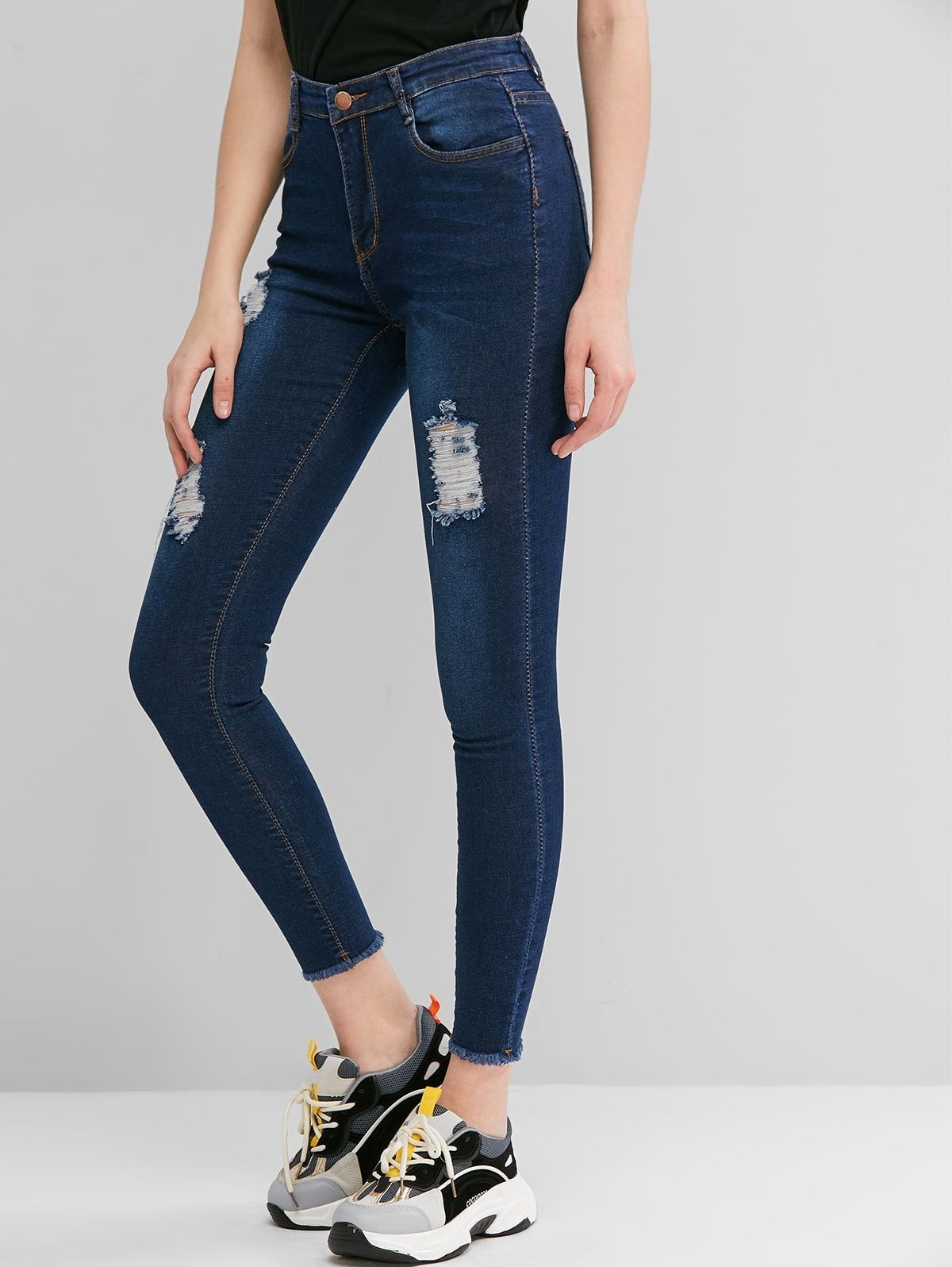 Photo of Denim And Jeans | High Waisted & Ripped Jeans