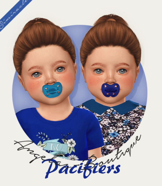 Angelas-Boutique Pacifiers | sims stuff | Sims 4 toddler