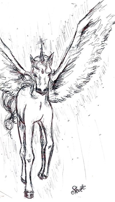 Helios / Pegasus from Sailor Moon Sketchbook 3 (2002) #sketchbook ...