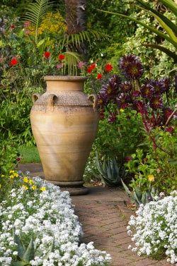 abbotsbury gardens uk i love the large urn olive jar ideas rh pinterest com