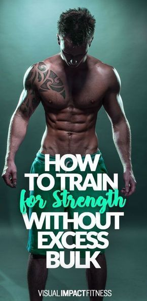 Strength Training Without Excess Size: The Workout