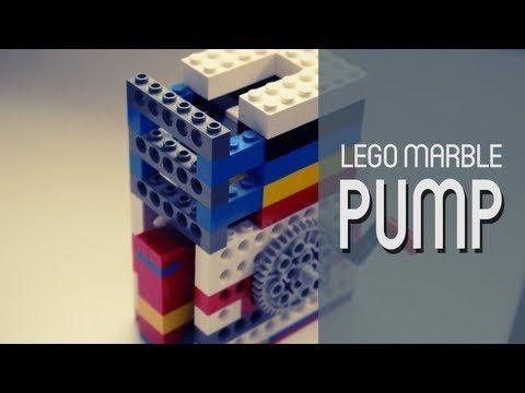 Lego Contraptions 1 Marble Pump Youtube Lego Lego Building Legos
