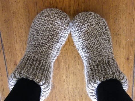 Image Result For Free Knitting Patterns Easy Slippers Projets