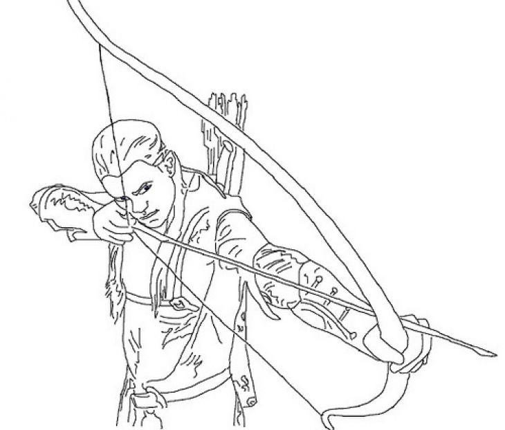 Legolas Aiming His Arrow In Lord Of The Rings Coloring Page