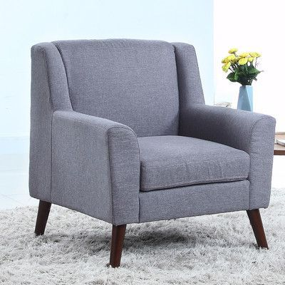 Madison Home Usa Mid Century Modern Fabric Living Room Armchair