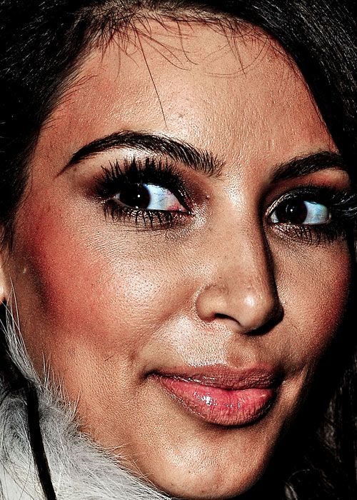 Click The Link Celebrities Faces Close Up Celebrity Faces Plastic Surgery Kim Kardashian