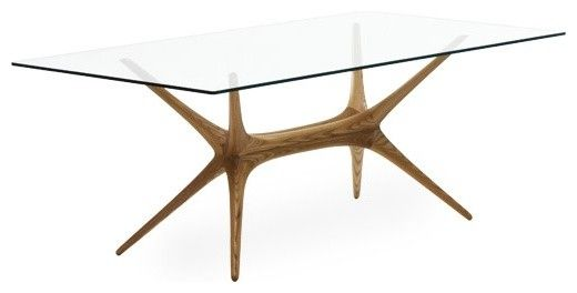 Mid Century Modern Glass Top Dining Table Ideas For The House - Glass top mid century dining table