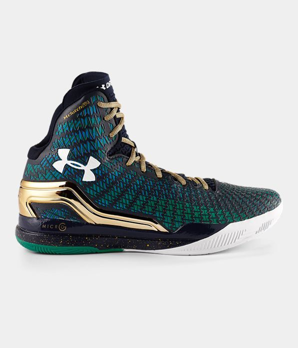 timeless design dbe22 70a61 Lowest Price UA ClutchFit Drive Midnight Navy Kelly Green Gold