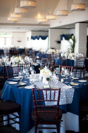 Оформление кругого свадебного стола
