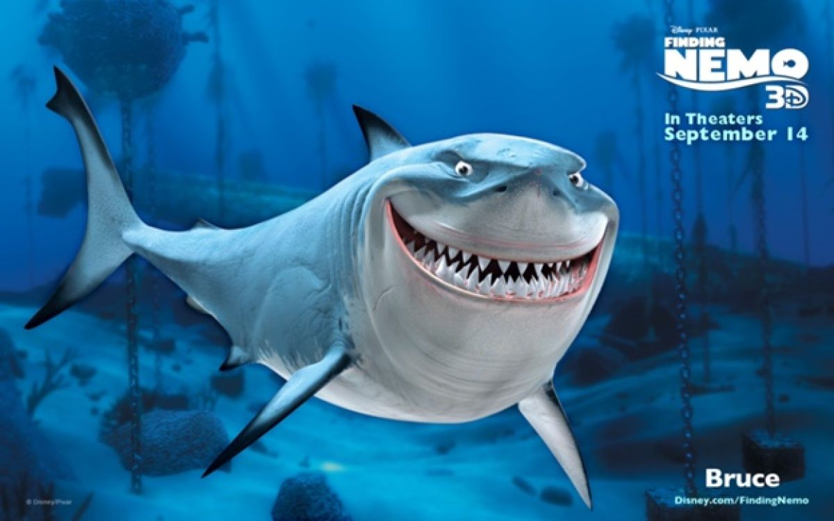 63 Barry Humphries As Bruce The Shark Finding Nemo What Other File Shark Was Named Bruce Finding Nemo Characters Finding Nemo Disney Finding Nemo