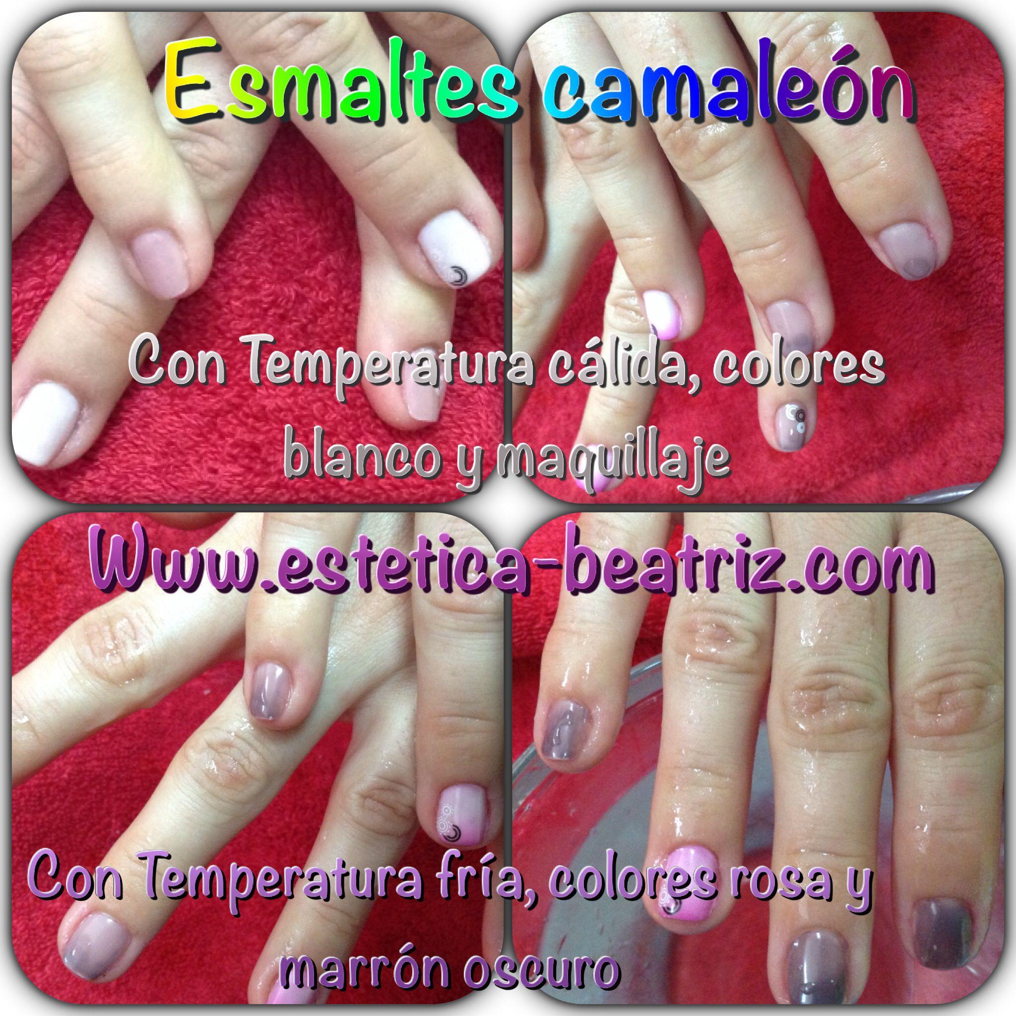Contemporáneo Esmalte De Uñas De Color Marrón Rosáceo Viñeta - Ideas ...