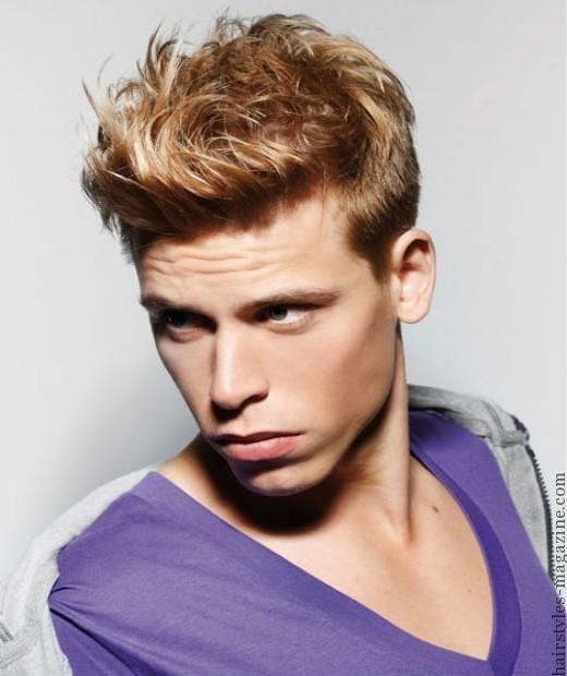 Hair Streak Ideas For Men With Brown Hair Hairstyles Magazine Mens Hairstyles Brown Hair Men Light Brown Hair Men