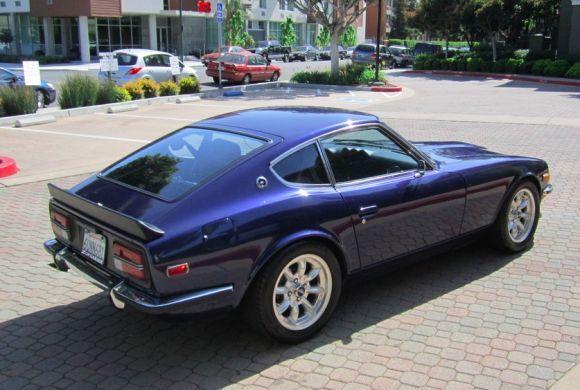 1972 Datsun 240z For Sale Rear Rebello Modified Blue Jpg 580 390 Datsun 240z Datsun 240z For Sale Datsun