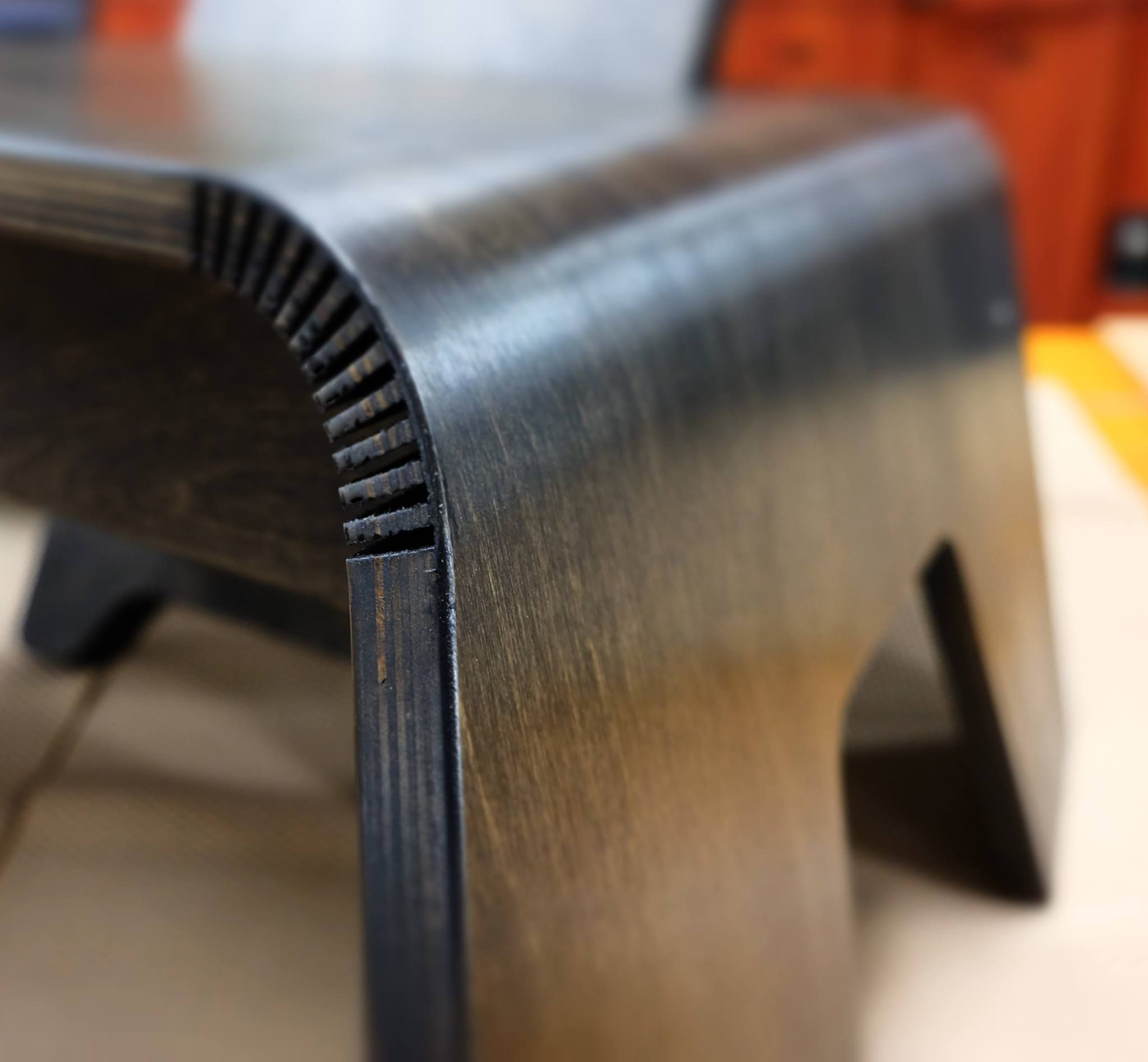 african birthing chair table rental kerf bending on the seat part of birth ii prototype
