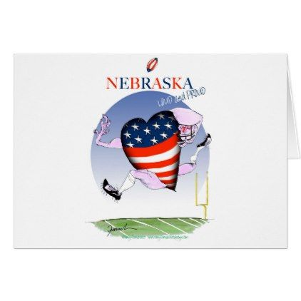 #stripes - #nebraska loud and proud tony fernandes card