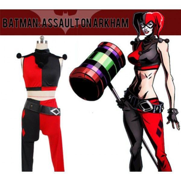 DC Comics Batman Harley Quinn Cosplay Costume from Batman #Cosplay #Batman #Costume #HarleyQuinn