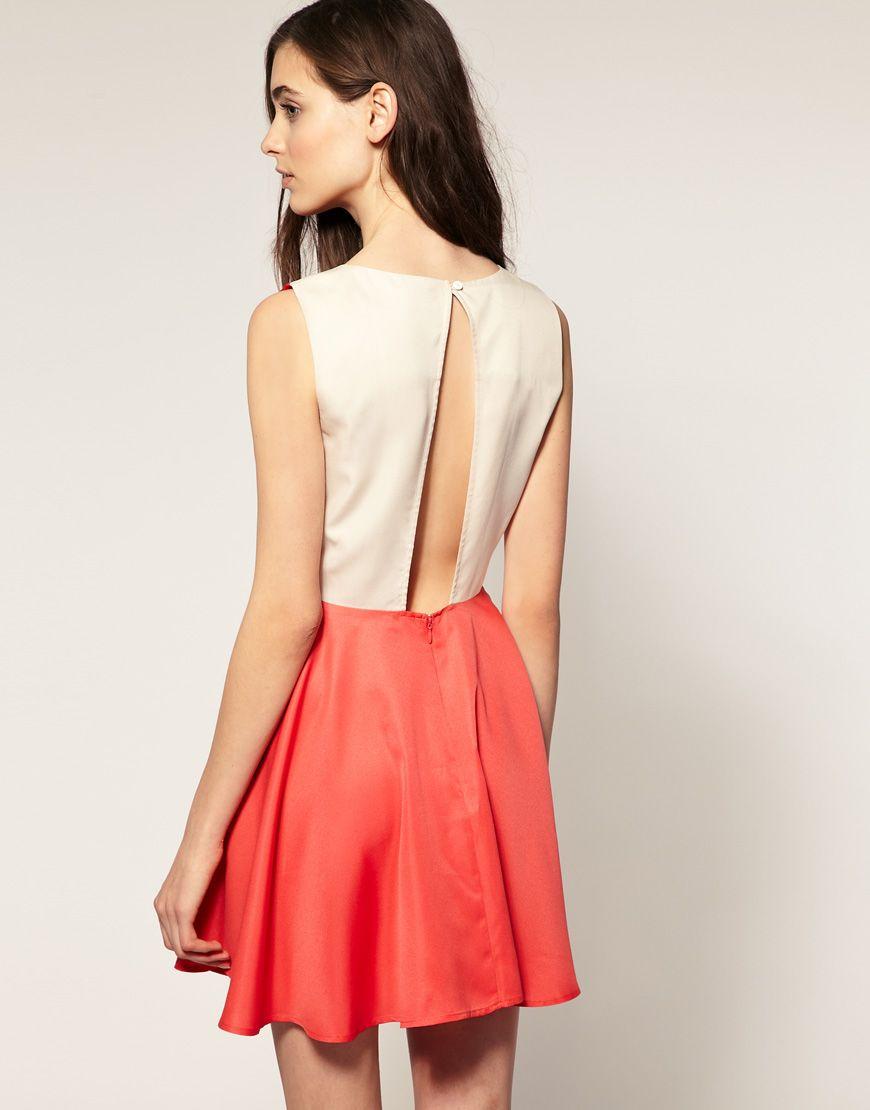 Love backless dresses my style pinterest vero moda moda and