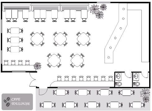 Floor Plans Maid Cafe Bakery Pinterest Cafe Design And Cafes