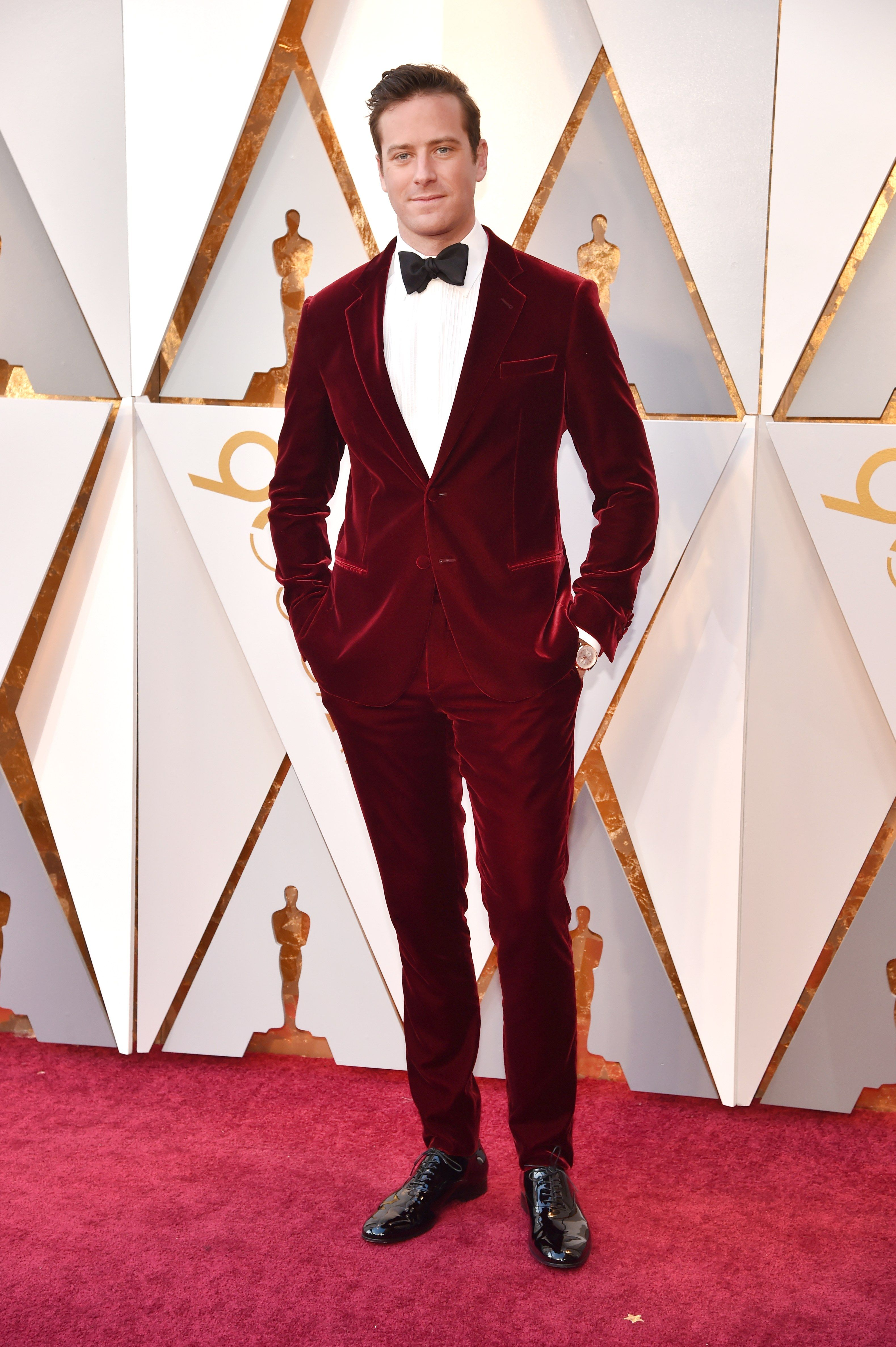 Oscars 2018 Roter Teppich The Best Dressed Men On The Oscars 2018 Red Carpet Celebrity