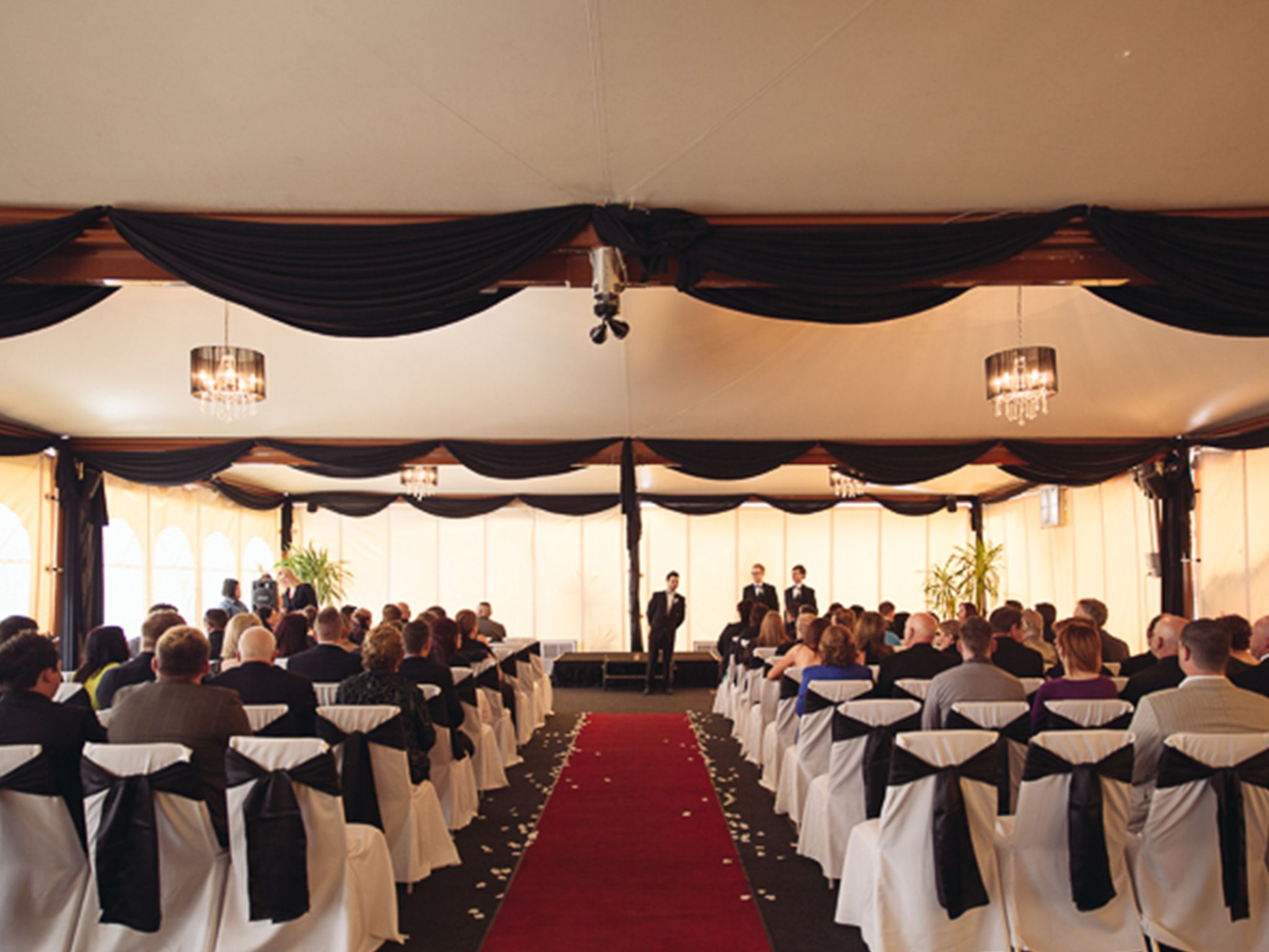 Marquee Wedding Reception Chandelier Melbourne Weddings Real
