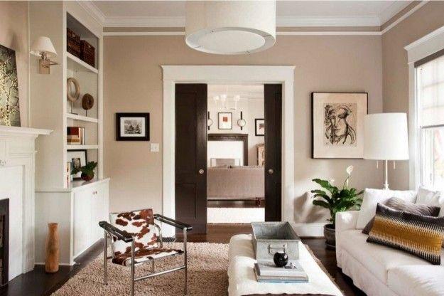 Pareti Bianche E Beige : Abbinare i colori delle pareti ai mobili idee per la casa