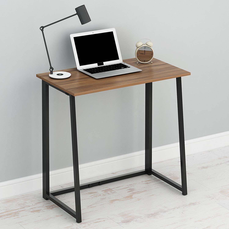 Compact FlipFlop Folding Computer Desk Home Office Laptop