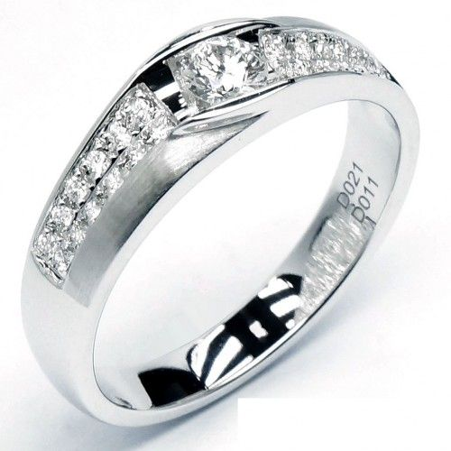 18k Men S Diamond Wedding Band 0513 Men S Wedding Rings