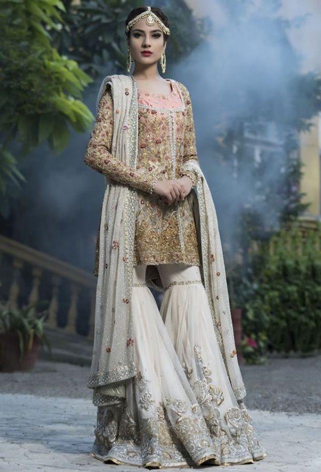 Pakistani Trousers are daring | pak brides | Pinterest ...