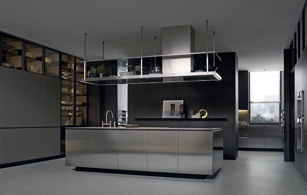 Varenna Küchen ~ Transparências realça o ideal de cozinha contemporânea. a varenna é