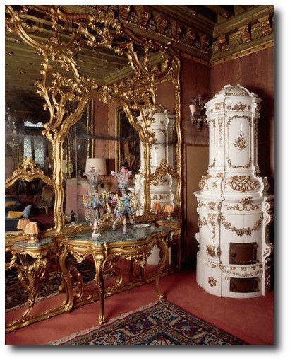 Excellent Baroque Interior Design Style With European Baroque Interior Of  Palazzo Dario Venice Italy