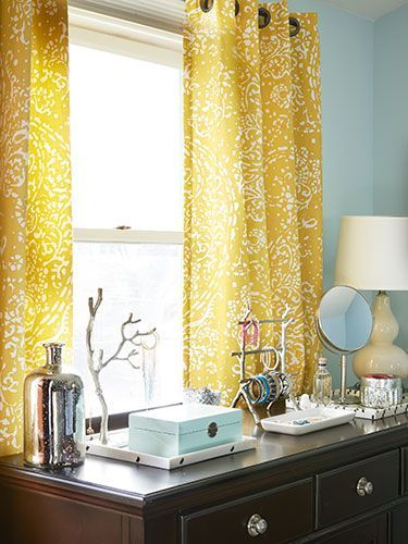organizing your bedroom how to declutter your bedroom country rh pinterest com amazon yellow bedroom curtains yellow bathroom curtains
