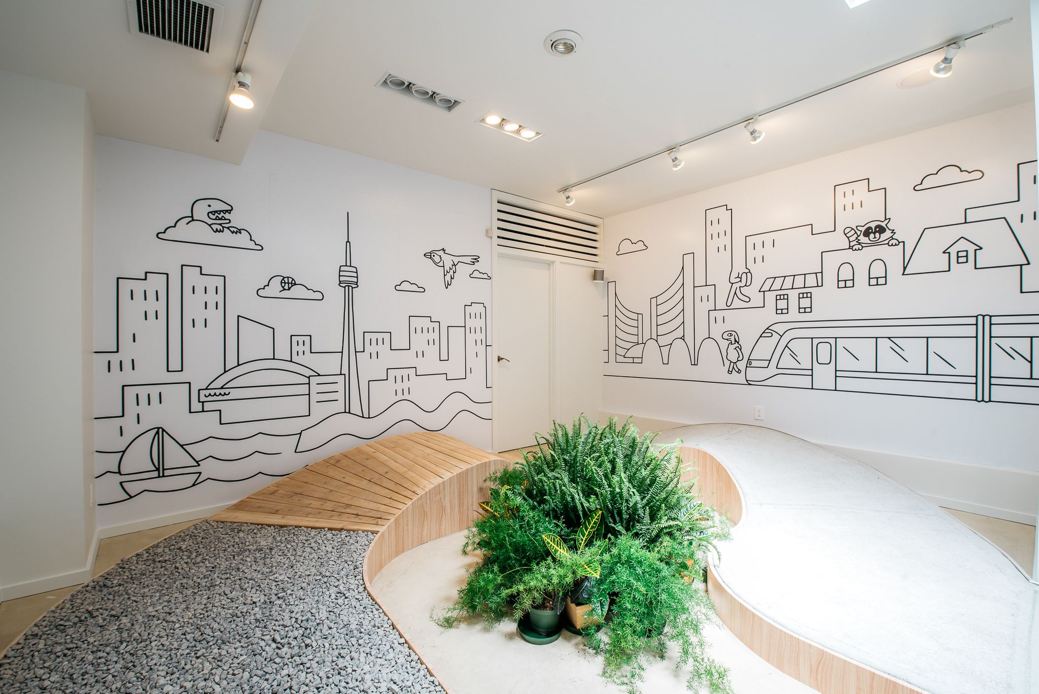 Pick up a pair of allbirds at the toronto pop up that takes you on a stroll through the six on the all terrain birdwalk weareallbirds