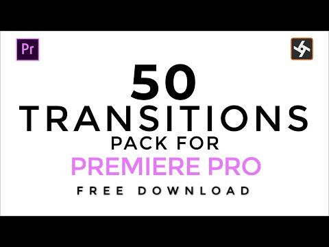 50 Smooth Transitions Preset Pack FREE for Premiere Pro (2019