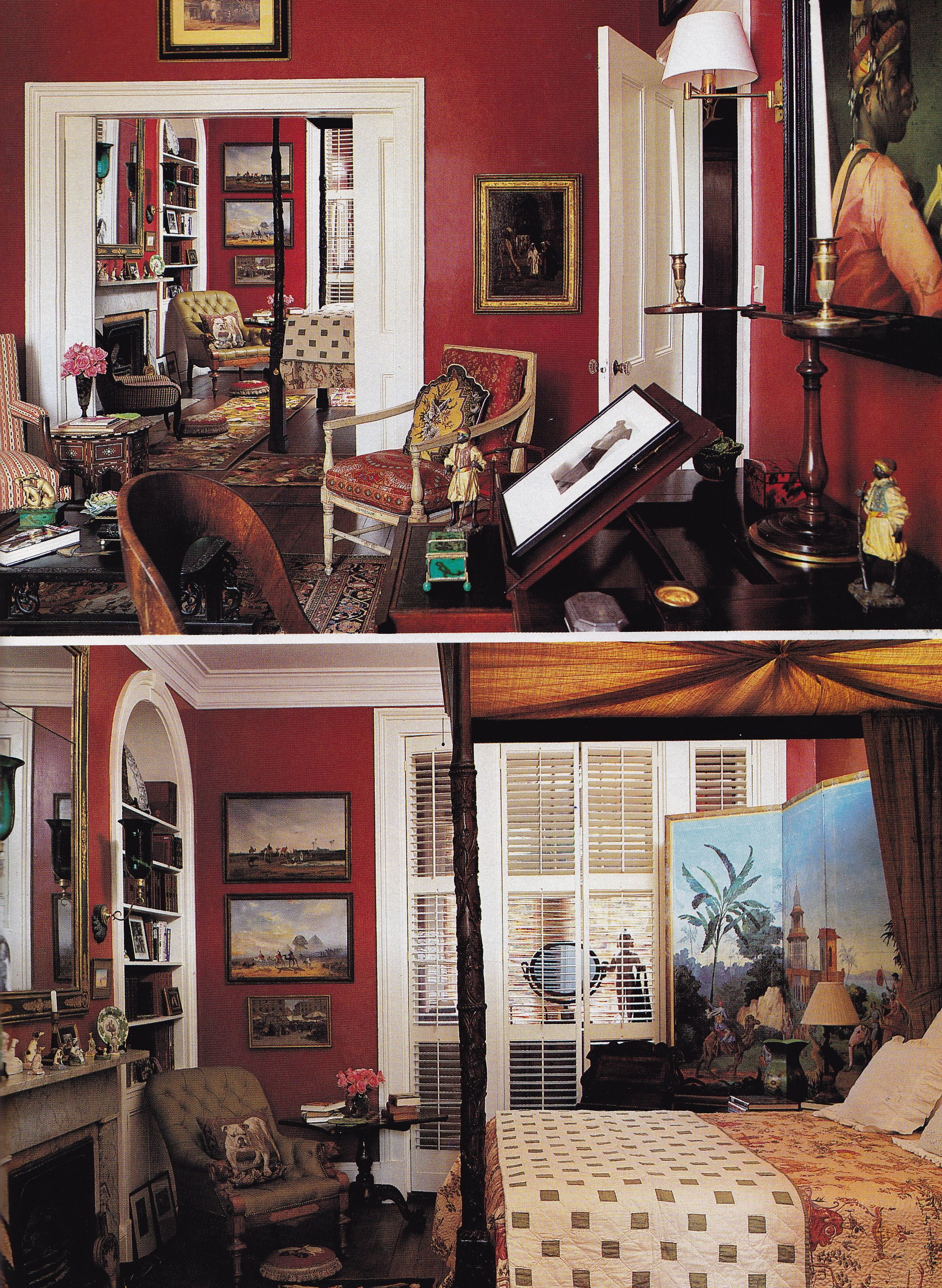 John Rosi Furlow Gatewood Savannah Hg July 1992 Oberto Gili Wall Paint