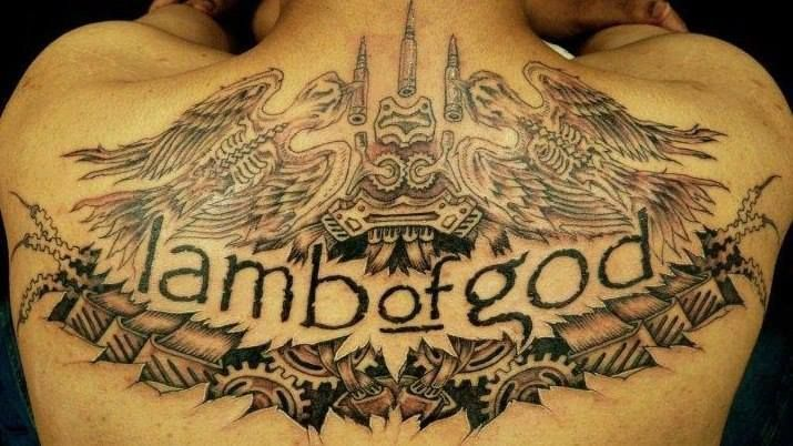 Image Result For Lamb Of God Pure American Metal Tattoo Metal Tattoo Tattoo Quotes Tattoos