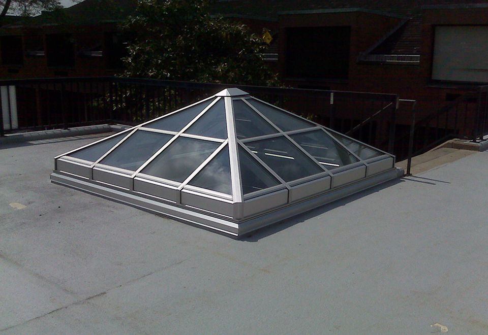 Pin By Solar Innovations Architectur On Spectacular Skylights Skylight Roof Lantern Vented Skylights
