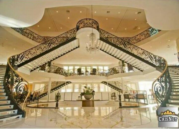 Got to have me a double staircase where i live mansions