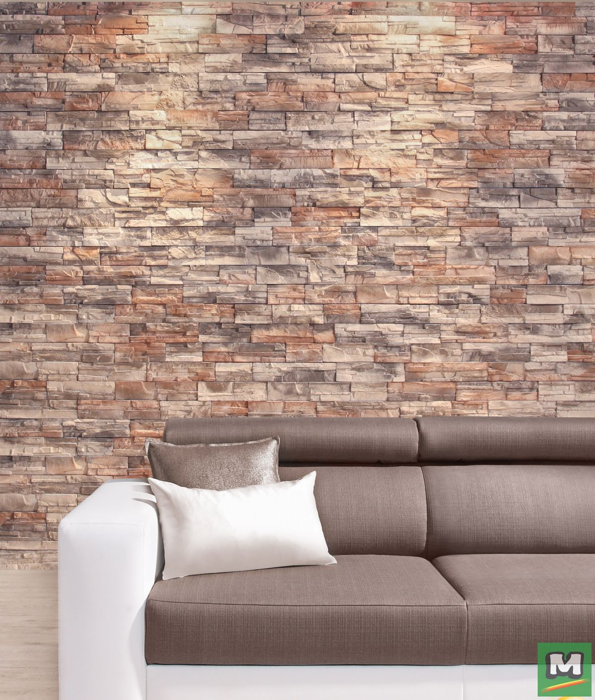 Create An Accent Wall With Roma Manufactured Stone Veneer