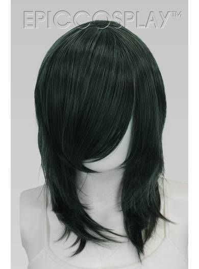Helios (Classic) - Forest Green Mix Wig