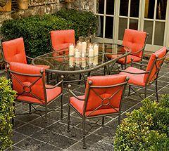 Outdoor Patio Furniture Woodard Landgrave Cast Aluminum Hacienda