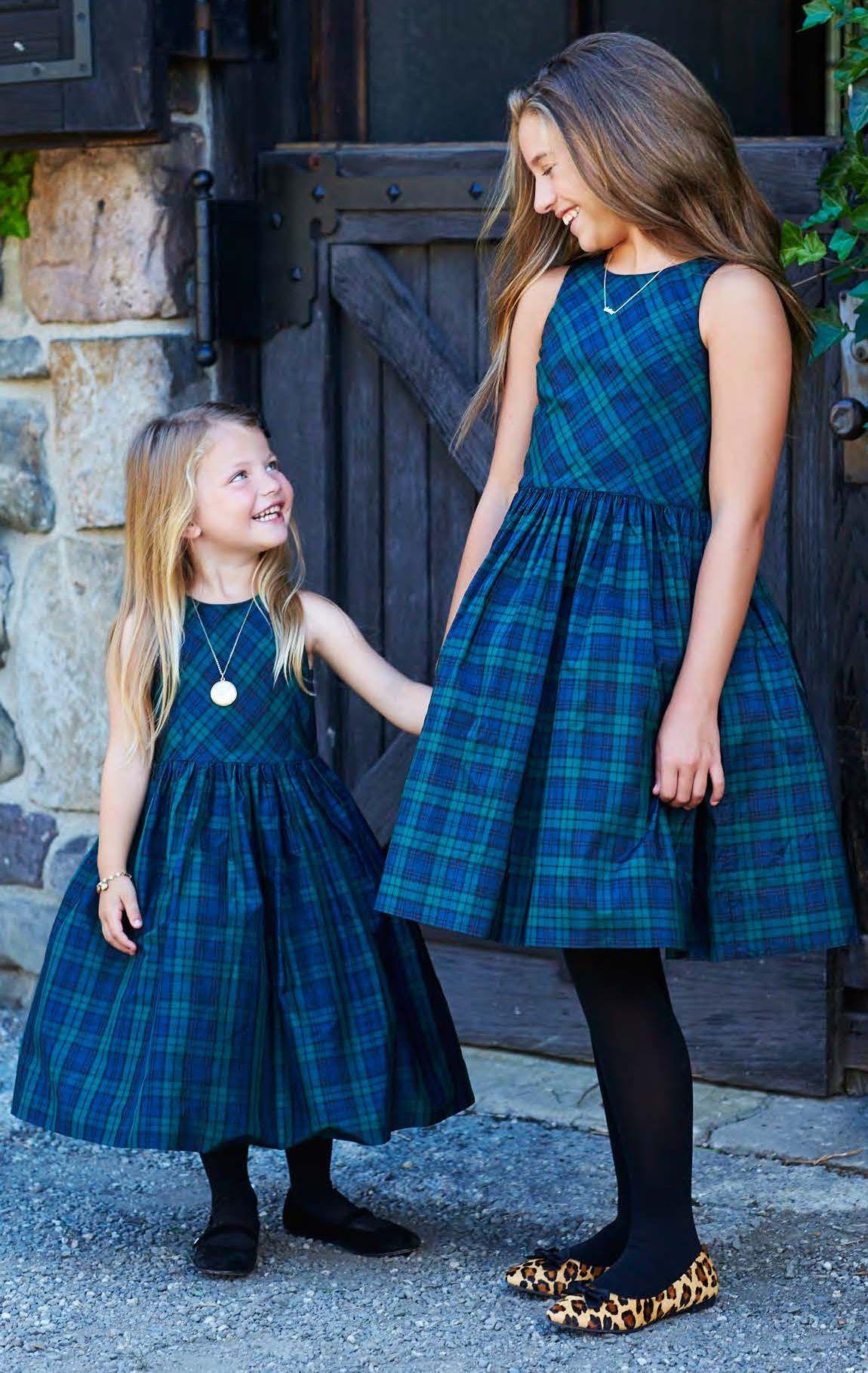 ff1d6c71b Polo Holiday Kids Plaid Silk Taffeta Dress