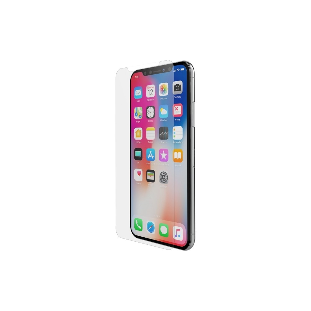 Belkin iphone x tempered glass screen protector clear