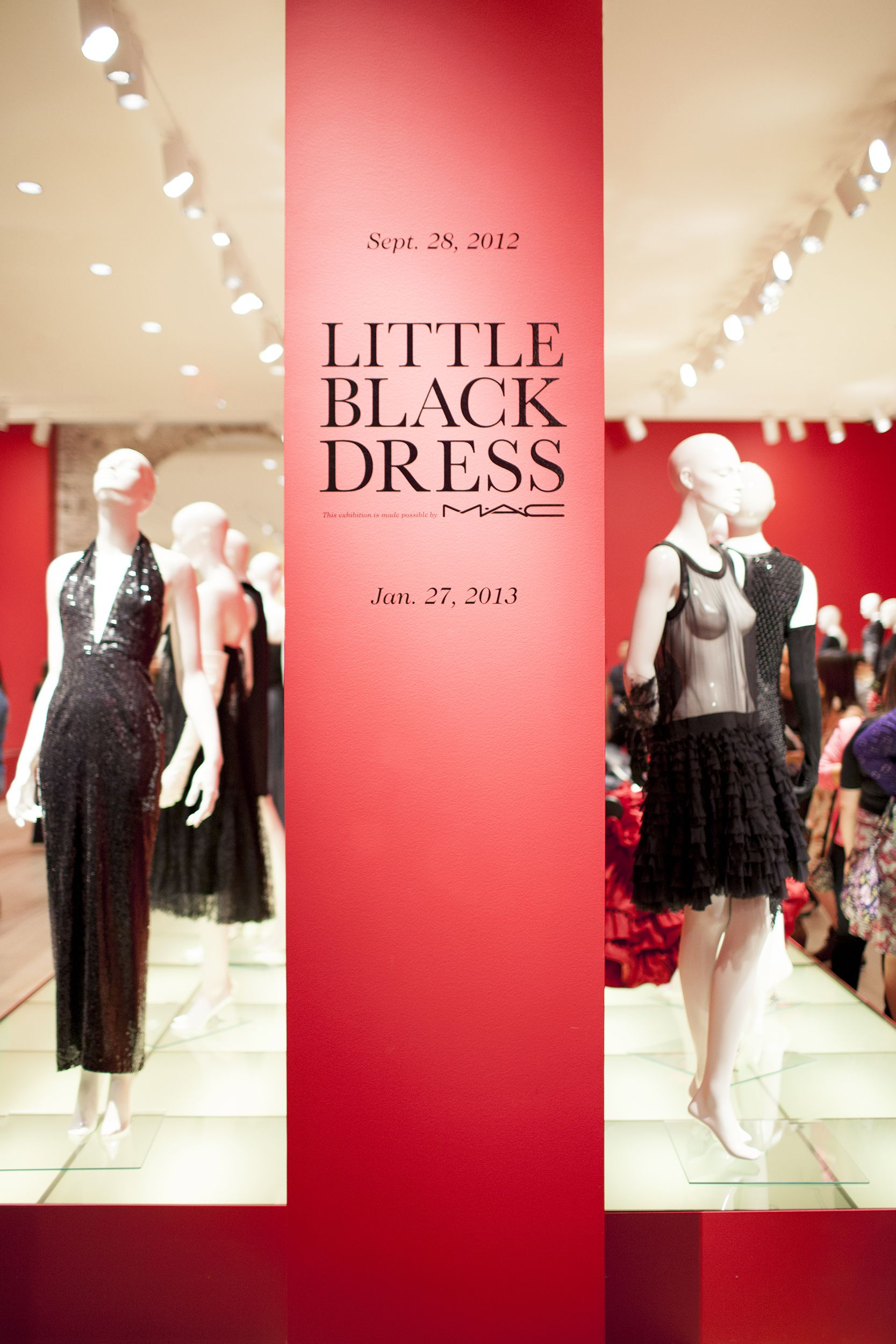 SCAD Savannah College Of Art And Design Little Black Dress - Black museums in usa