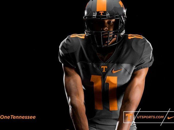 Vols new Nike Smokey gray football uniform · Tennessee FootballTennessee  VolunteersCollege ...