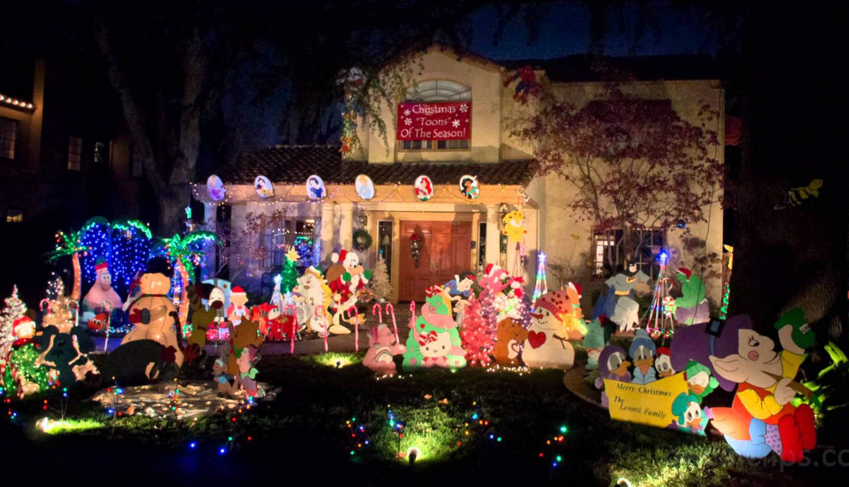 America\'s best streets for Christmas lights | East Sacramento ...