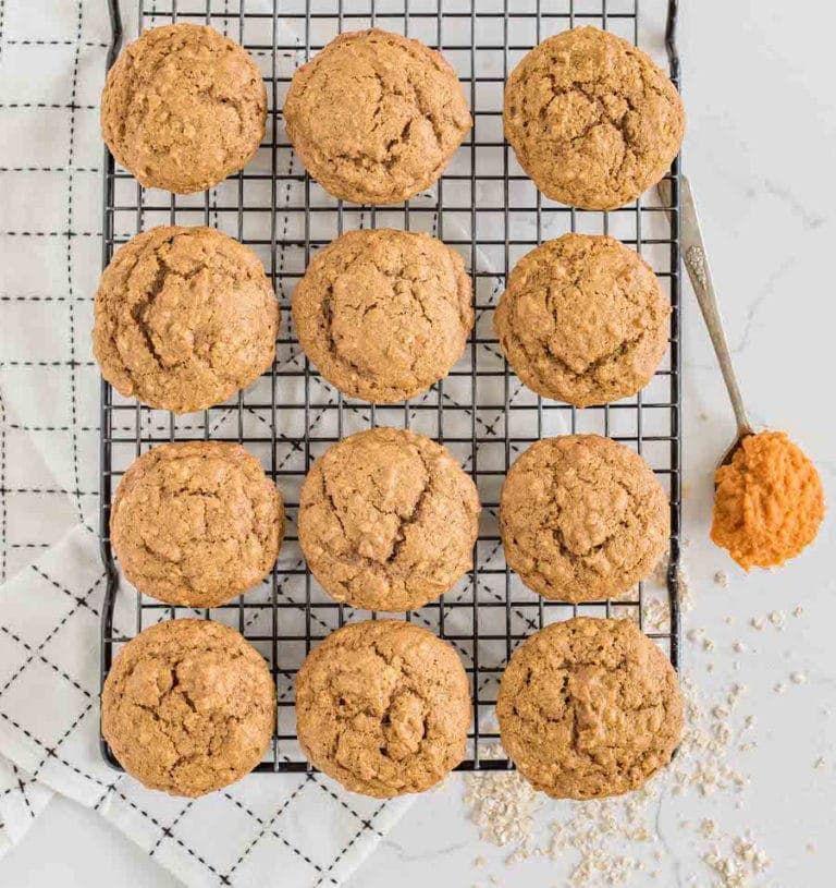 One Bowl Pumpkin Spice Muffins #pumpkinmuffins