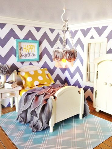 Paperdoll Designs The Paper Dollhouse Master Bedroom