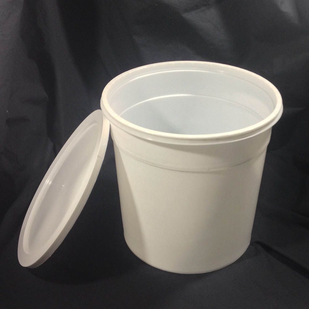 Plastic Ice Cream Vendor Buckets And Lids Yankee Containers